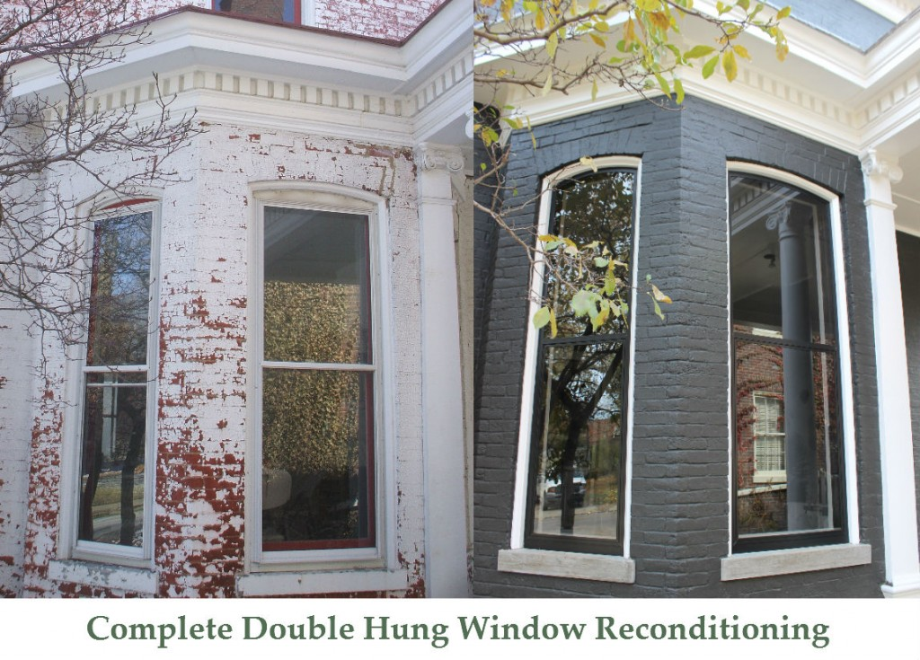 Complete Double Hung Window Reconditioning