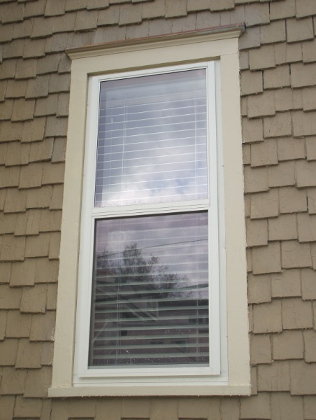 Inset Storm Window Unit with Low-e Glass