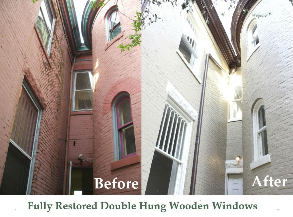 Restoration of Double Hung Window Sash Lexington Ky