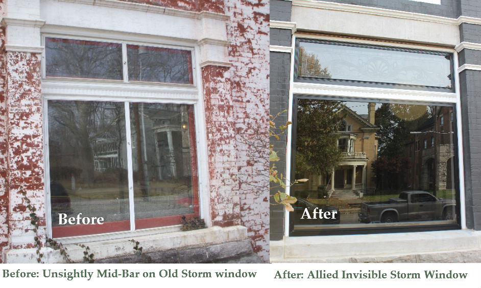 Storm Window for Large Picture Window