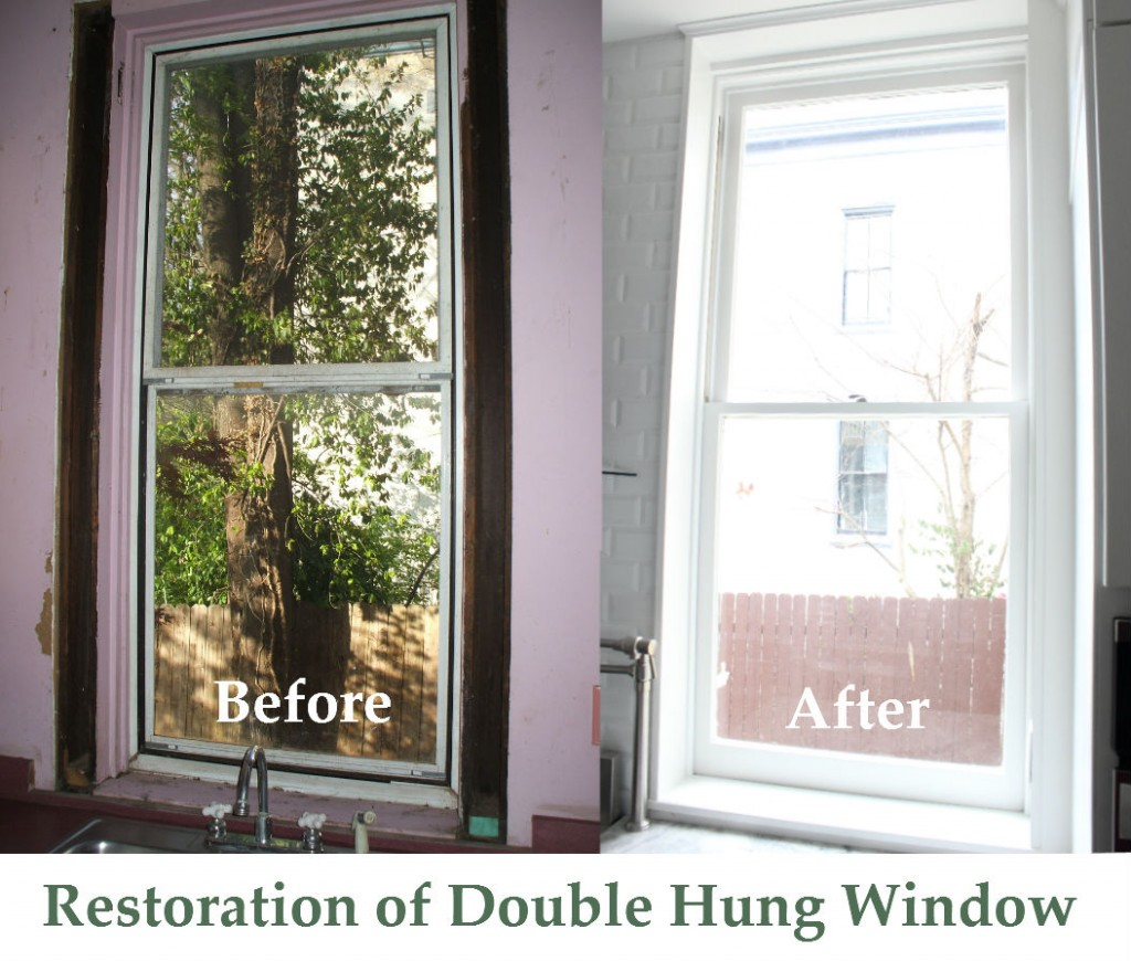 double hung window restoration lexington ky