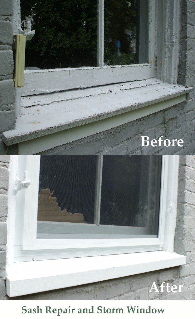 sash repair and storm window